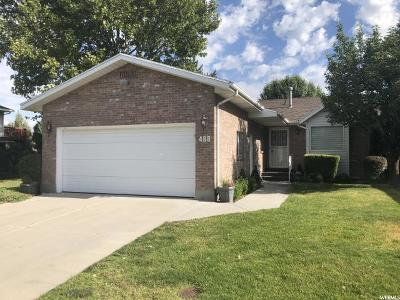 Orem Single Family Home For Sale: 488 W 120 N