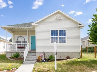 Eagle Mountain Single Family Home For Sale: 1854 E Cedar St #62