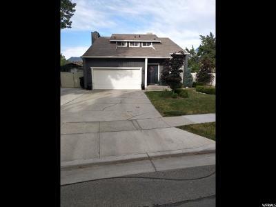 Sandy Single Family Home For Sale: 9675 S Cedar Crest Dr