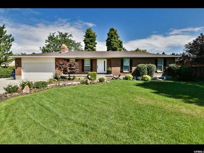 Sandy Single Family Home For Sale: 1471 E Shoshone Ave S