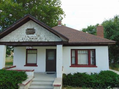 Perry Single Family Home For Sale: 2240 S Highway 89 Hwy E