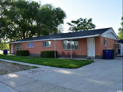 West Valley City Multi Family Home For Sale: 4386 W 3335 S