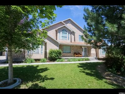 South Jordan Single Family Home For Sale: 2266 W Countrybend Dr