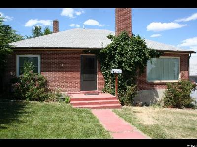 Price UT Single Family Home For Sale: $150,000