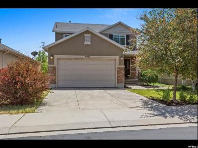 Herriman Single Family Home For Sale: 4587 W Mina Deoro Dr S