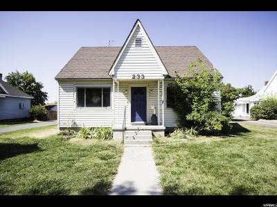 Smithfield Single Family Home For Sale: 233 S Main St