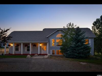 Cache County Single Family Home For Sale: 6291 S 1800 W