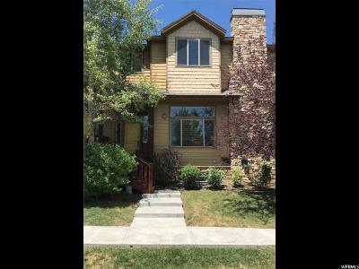 Park City Townhouse For Sale: 5465 Bobsled Blvd