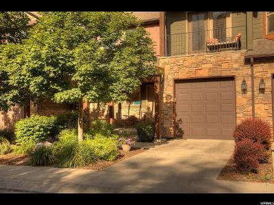 Midvale Townhouse For Sale: 7846 S Spring Station Way Way E