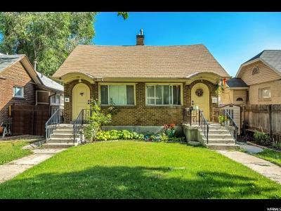 Salt Lake City Multi Family Home For Sale: 176 E Williams Ave S