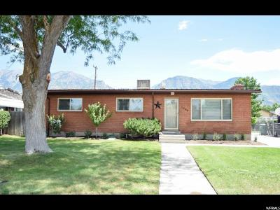 Provo Single Family Home For Sale: 1796 N 1350 W