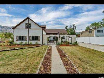 Brigham City Single Family Home For Sale: 37 S 300 W