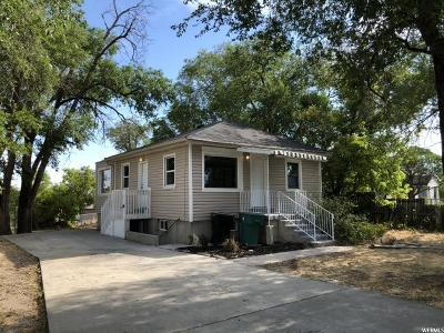Murray Single Family Home For Sale: 370 W Vine St S