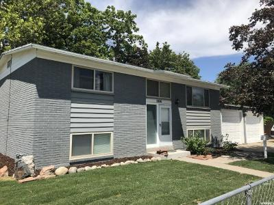 Murray Single Family Home For Sale: 5886 S 590 W