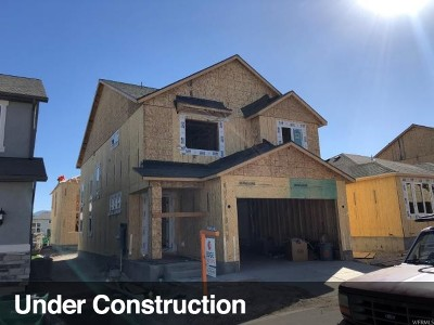 Lehi Single Family Home For Sale: 4131 W 1800 N #810