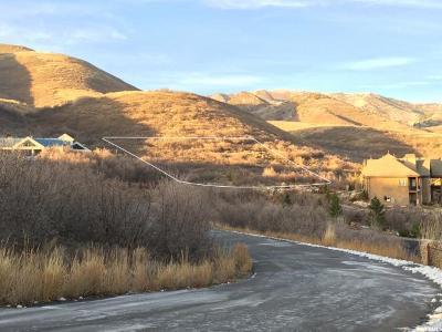 Salt Lake City Residential Lots & Land For Sale: 6249 E Brigham Fork Cir N