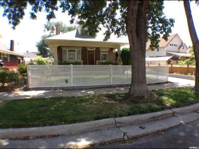 Salt Lake City Single Family Home For Sale: 1593 S Major St E