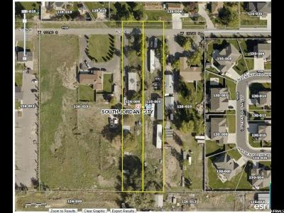 South Jordan Residential Lots & Land For Sale: 1087 W Private Ln S