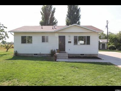 Tremonton Single Family Home For Sale: 886 S 100 W