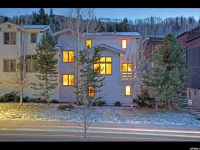 Park City Townhouse For Sale: 599 Deer Valley Loop #4-B