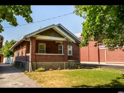 Logan Single Family Home For Sale: 245 W 100 S