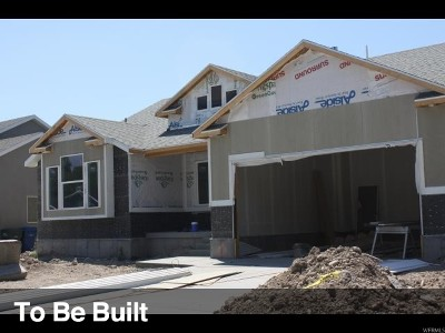 West Valley City Single Family Home For Sale: 2185 W Charles Leo Ct S #LOT 08