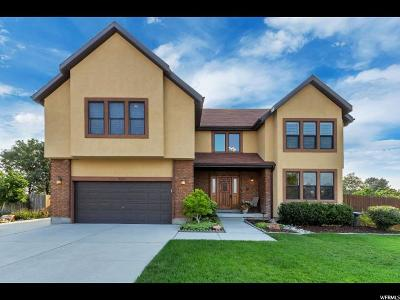 Sandy Single Family Home For Sale: 9082 S Shady Willow Cir E