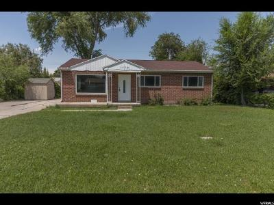West Valley City Single Family Home For Sale: 1516 W 2280 S