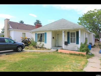 Single Family Home For Sale: 177 E 100 N
