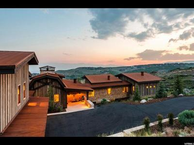 Park City Single Family Home For Sale: 3385 Central Pacific Trl