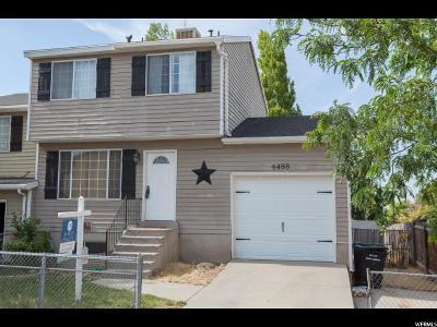 West Jordan Single Family Home For Sale: 4488 W Barrington Dr