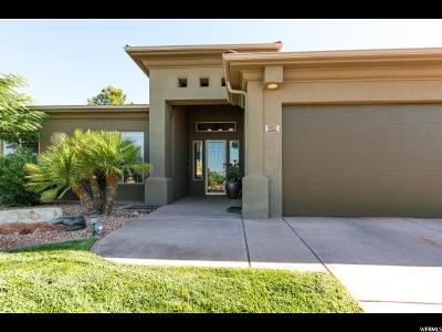 St. George Single Family Home For Sale: 1272 W Hummingbird Dr