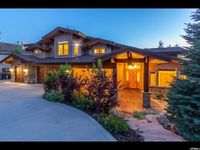 Park City Single Family Home For Sale: 2557 Lower Lando Ln