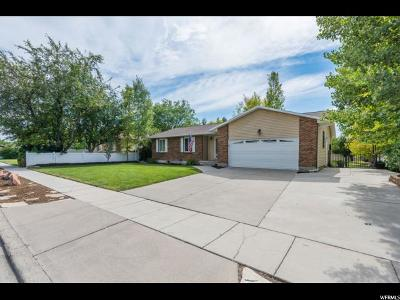 West Jordan Single Family Home For Sale: 8828 S Midvalley Dr