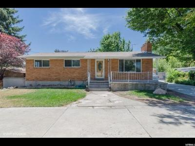 West Jordan Single Family Home For Sale: 2083 W Canal Rd S