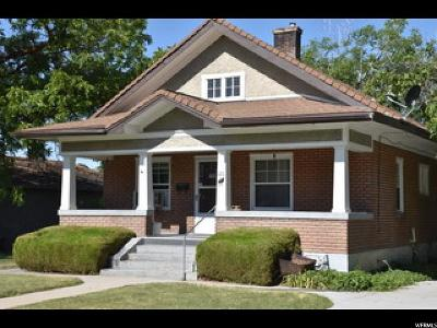 Brigham City Single Family Home For Sale: 121 N 400 E