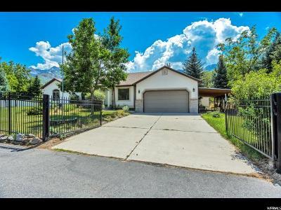 Sandy Single Family Home For Sale: 9525 S Hidden Pine Ln.
