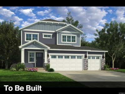 Bluffdale Single Family Home For Sale: 14804 S Chimney Pass Dr W #366