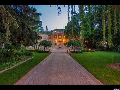 Holladay Single Family Home For Sale: 2520 E Walker Ln S
