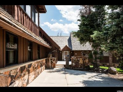 Park City Single Family Home For Sale: 1609 Tollgate Canyon Rd