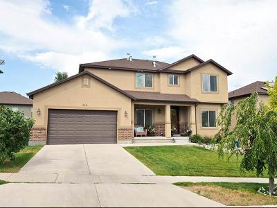 Saratoga Springs Single Family Home For Sale: 548 W Muskmelon Way