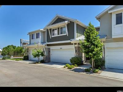 Midvale Townhouse For Sale: 7517 S Lucca Ct W