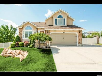 Sandy Single Family Home For Sale: 1457 E Snow Iris Cir S