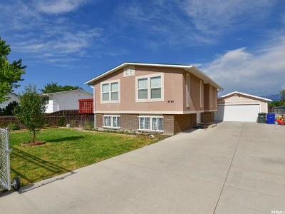 West Valley City Single Family Home For Sale: 4345 S Cherry View Dr W
