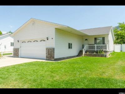 Millville Single Family Home For Sale: 74 S 100 E