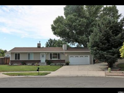 West Valley City Single Family Home For Sale: 3442 W Webwood Ct S