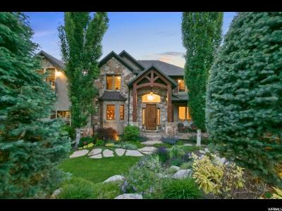 Cottonwood Heights UT Single Family Home For Sale: $935,000