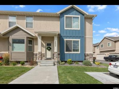 Eagle Mountain Townhouse For Sale: 3652 E Flint Ln