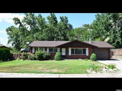 Brigham City Single Family Home For Sale: 655 E Medoland N