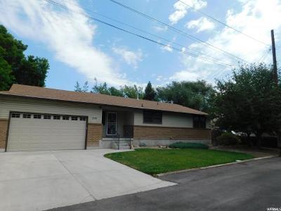 Midvale Single Family Home For Sale: 235 E 7615 S